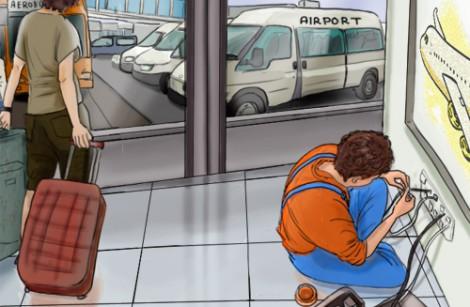 Проектирование и монтаж СКС в аэропорту Хабаровск (Новый)