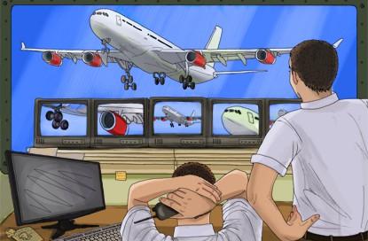 Проектирование и монтаж системы видеонаблюдения в аэропорту Хабаровск (Новый)